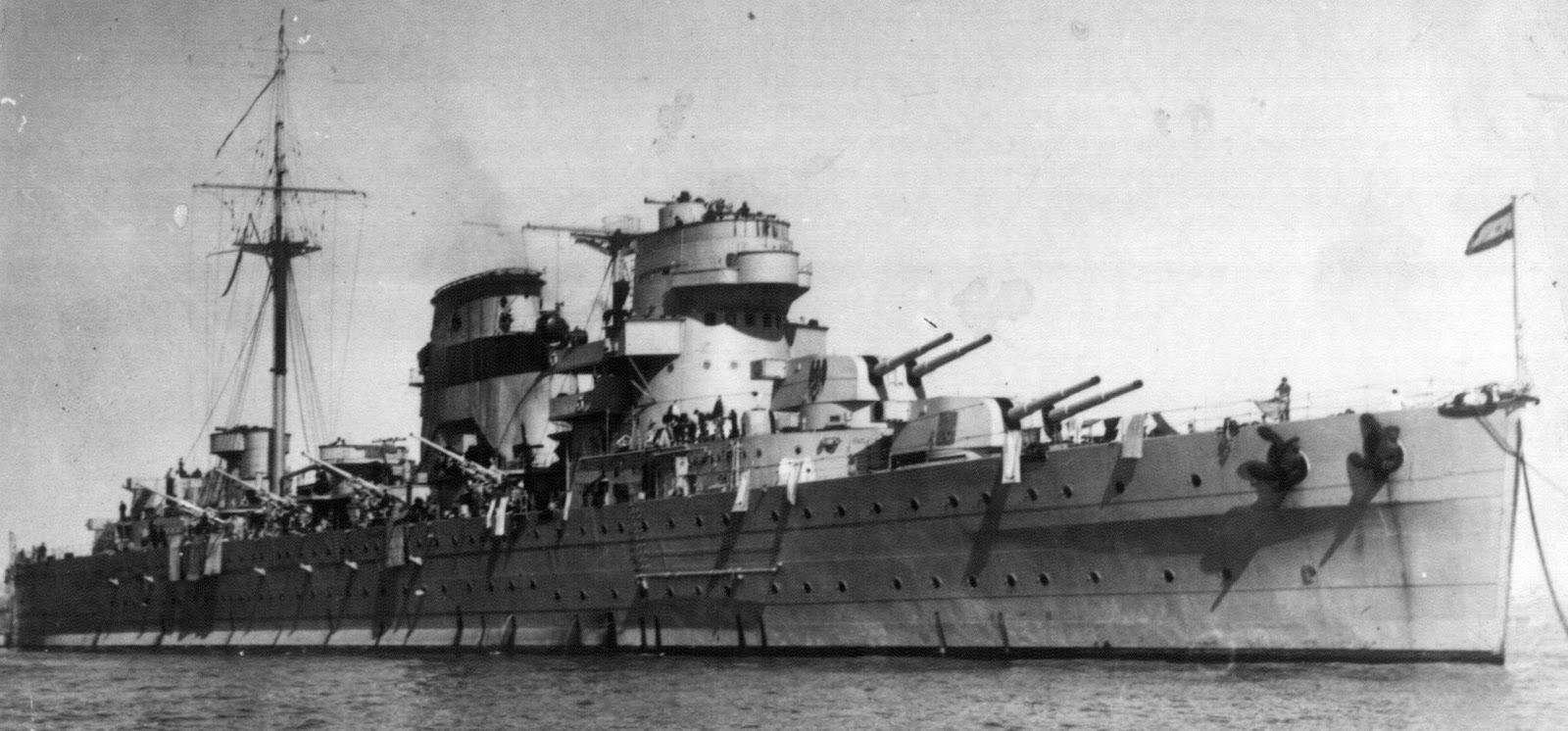 El legendario crucero Canarias (C-21) | laststandonzombieisland