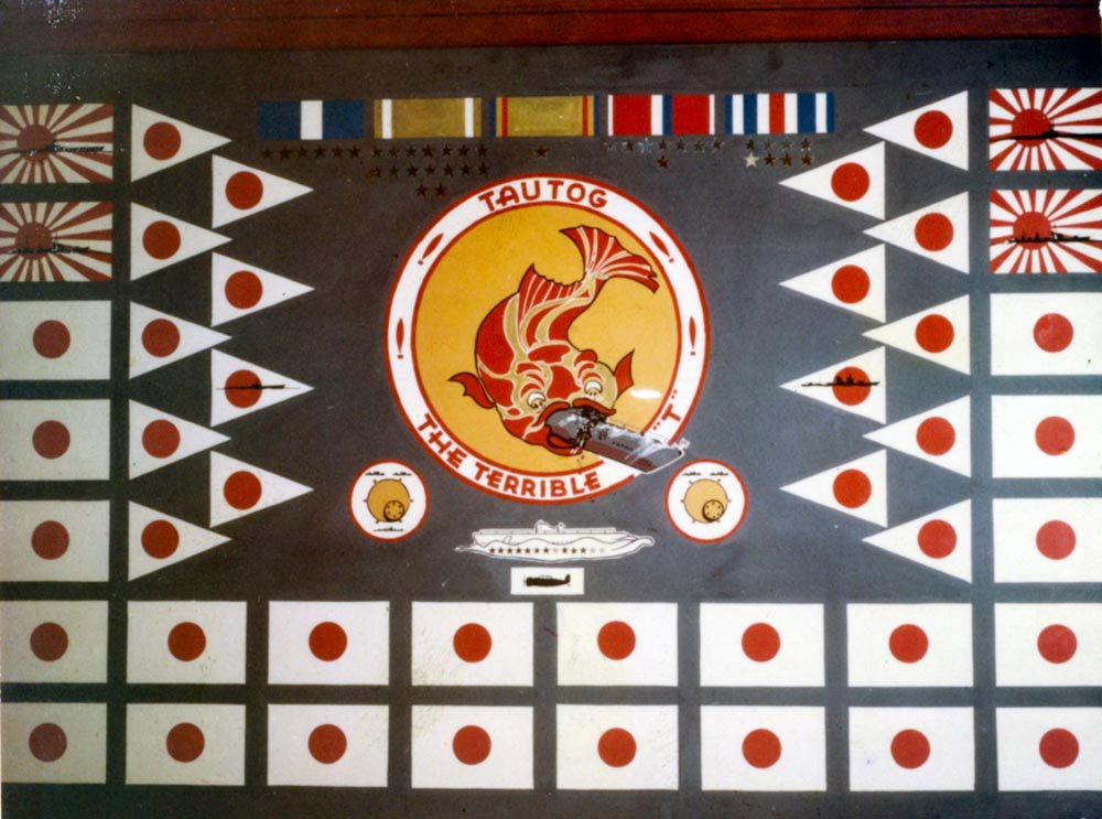 USS Tautog SS-199 Battle Flag | laststandonzombieisland