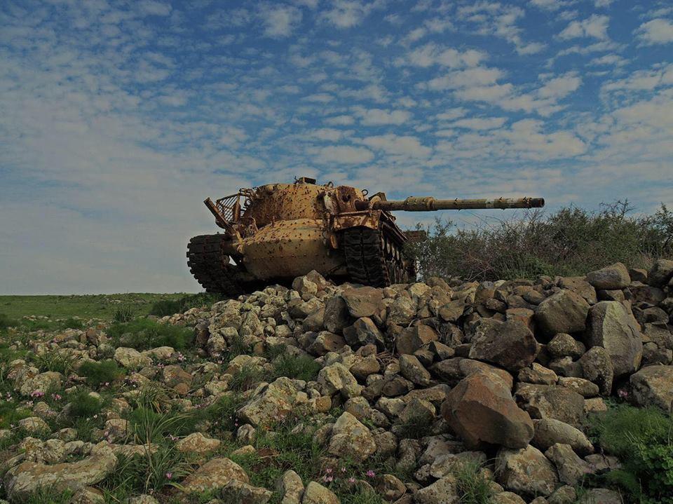 us-m-48-patton-magach-tank-golan-heights