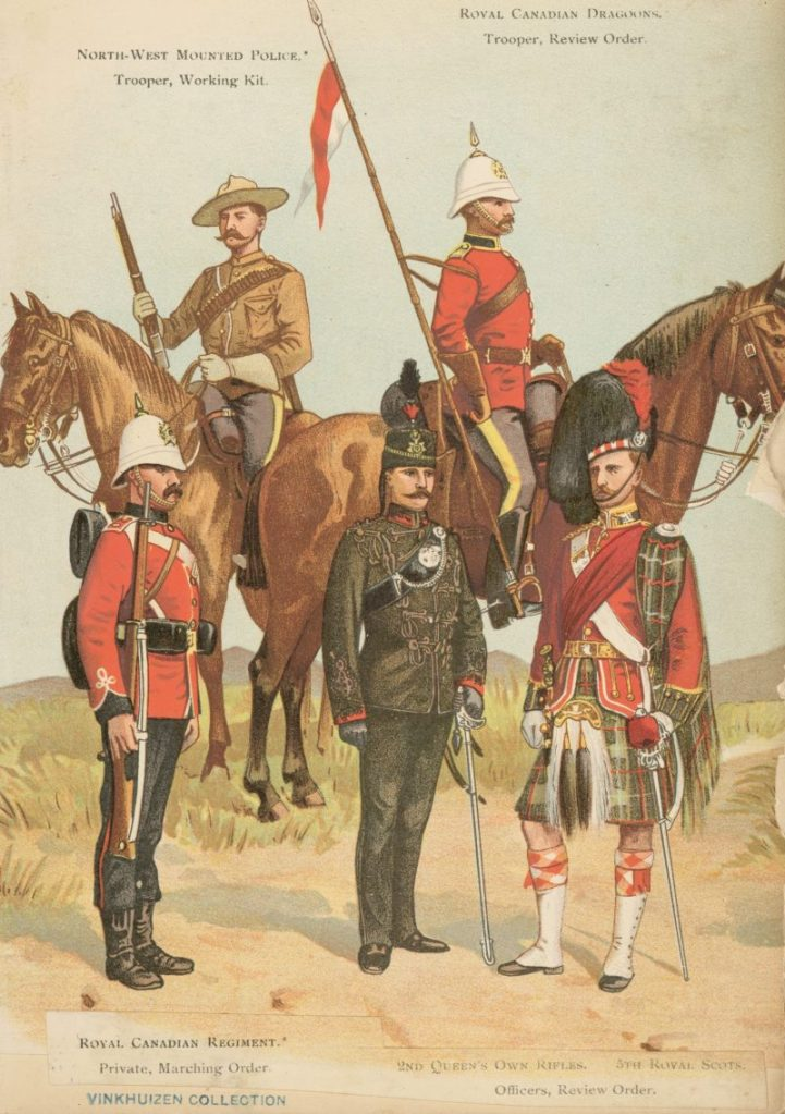 North-West mounted police, trooper, working kit  Royal