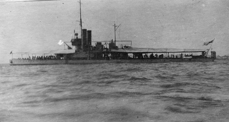 HMS Cockchafer On Passage From England To Shanghai January July 1920