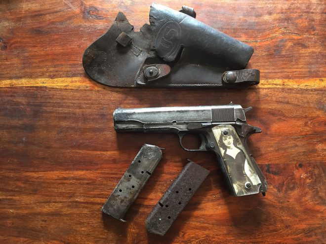 1911 recovered in germany us plane sweetheart grips 2