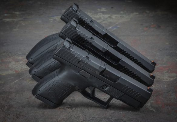 The optics-ready pistol is going to be the standard moving