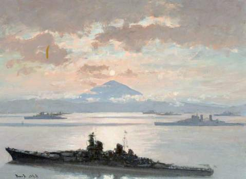 Cobb, Charles David, 1921-2014; Japanese Surrender, Tokyo Bay