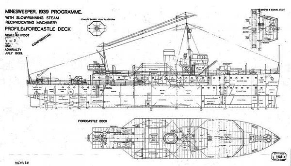 08.04. 1 Bangor Class Minesweeper 2