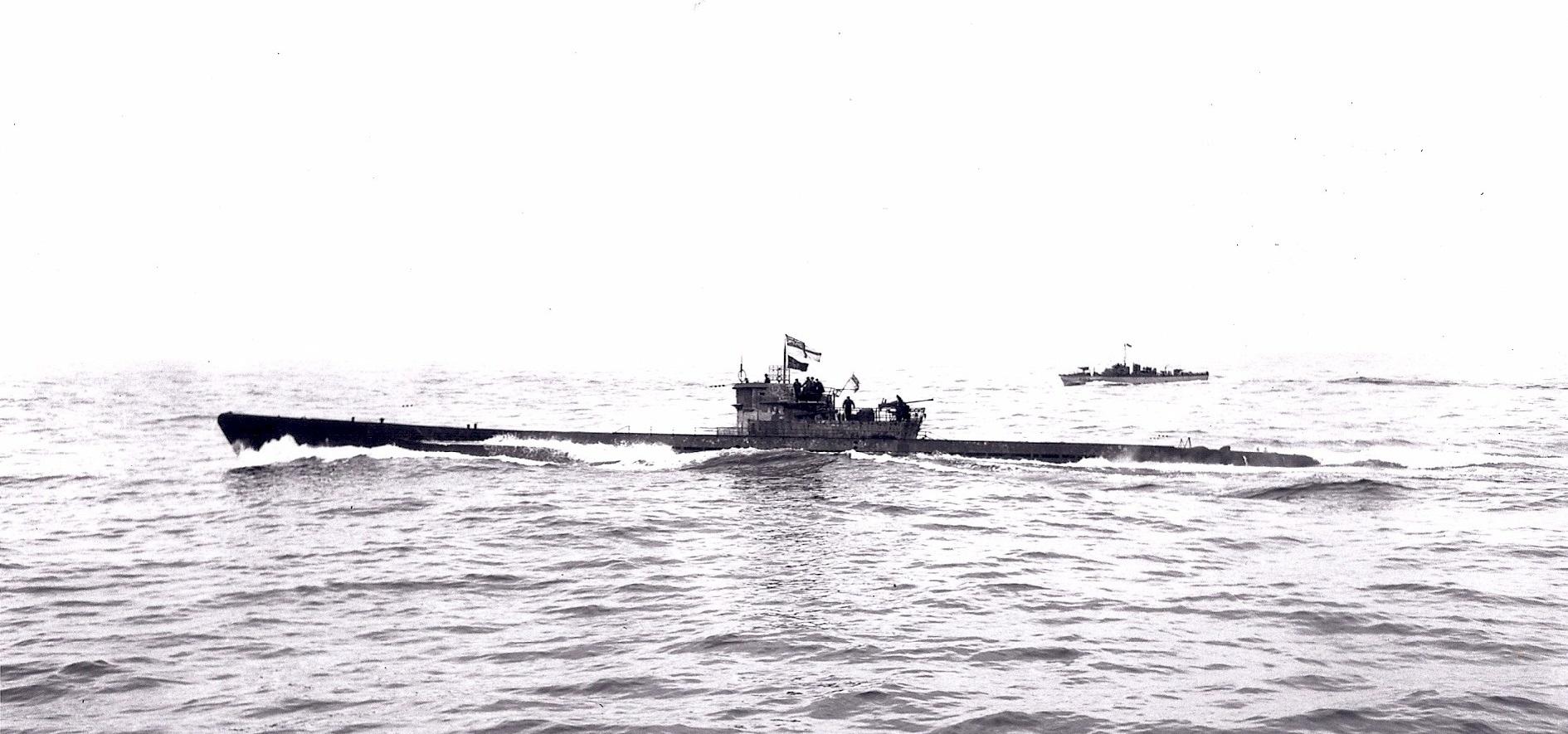U-190 surrendered