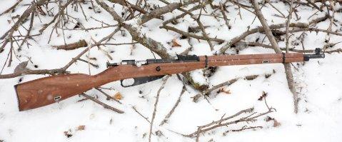KSA keystone 91 30 22lr mosin rifle snow