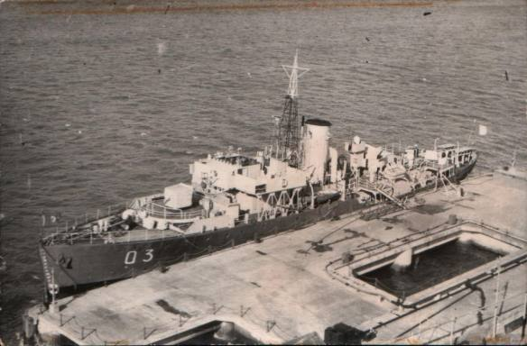 Warship Wednesday, April 3, 2019: She's was a lucky and