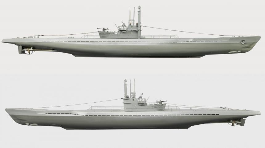 U-190 model by Maschinenbau, Gabler CWM 19720073-001