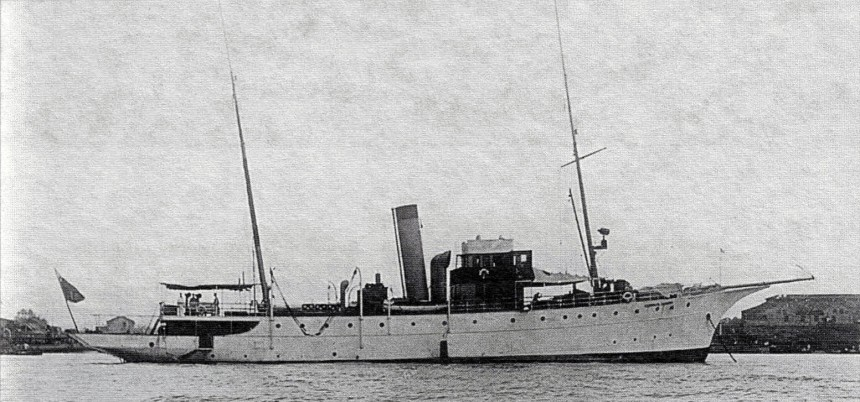 ADMIRAL ZAVOYKO 1917