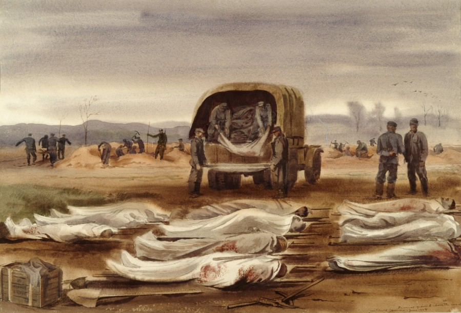 Burial Ground Above the Beach Omaha Dday Mitchell Jamieson 88-193-II