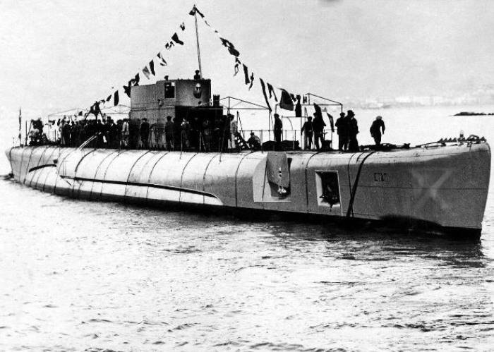 Il sommergibile Enrico Toti 2