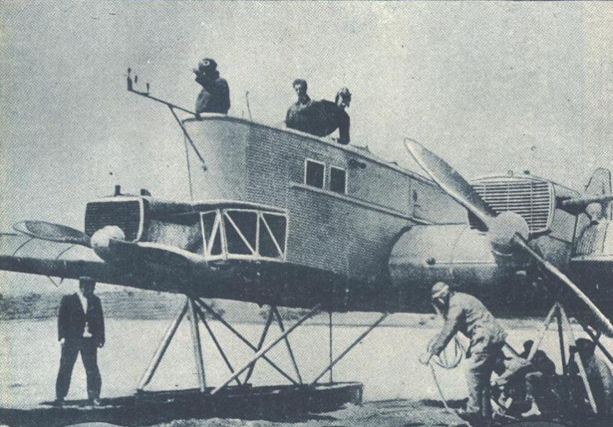 Tupolev TB-1 Strana Sovyetov
