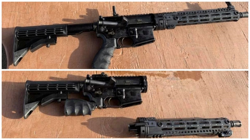 USAF Aircrew Self Defense Weapon together and taken down hr
