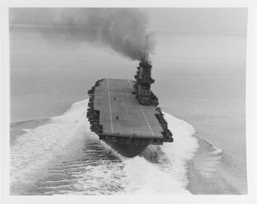 USS SARATOGA (CV-3) 15 May 1945 19-N-84316