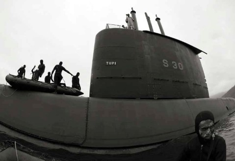 Brazilian submarine Tupi class S30 SSK German Type 209 frogmen commando swimmers