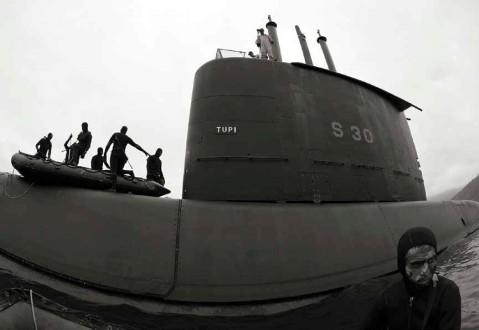 Brazilian submarine Tupi class S30 SSK German Type 209 frogmen commando swimmers