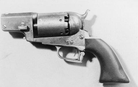 Colt's 1st Model Dragoon Revolver, Serial No. 3262 Stekes Utah Historical Collection