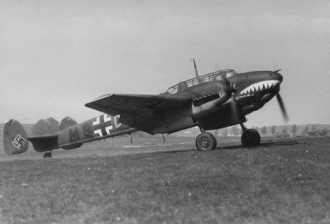 Flugzeug Messerschmitt Me 110