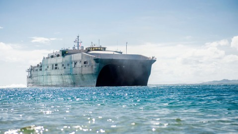 USNS Spearhead EPF Spearhead-class Expeditionary Fast Transports (EPF)