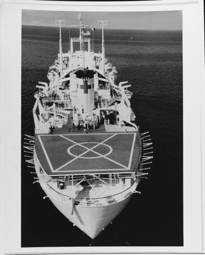 USS Benevolence AH 13 Personalized Canvas Ship Photo Print Navy Veteran Gift